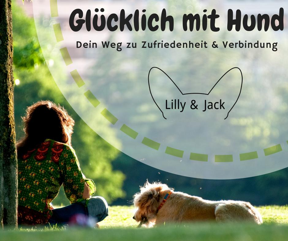 Glücklich mit Hund Onlinekurs für Zufriedenheit und Verbindung